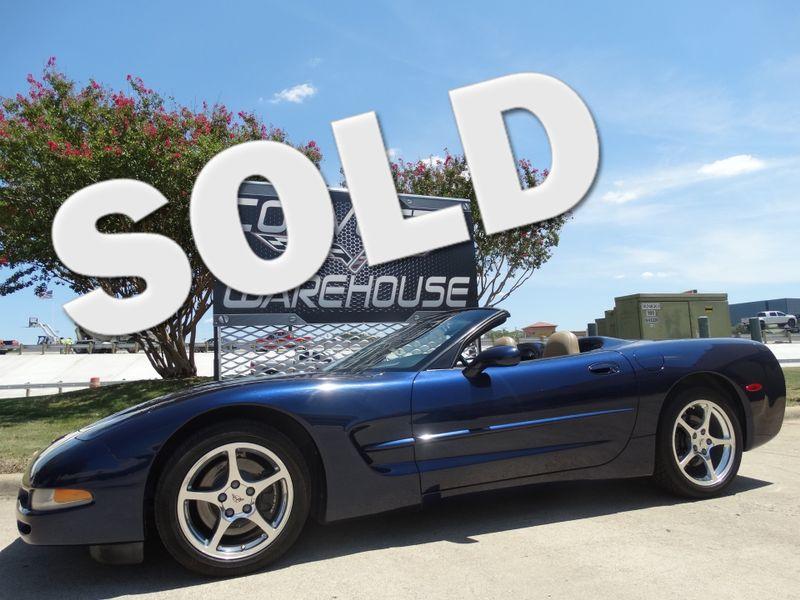 2001 Chevrolet Corvette Convertible Auto, HUD, Polished Wheels. Only 68k!   Dallas, Texas   Corvette Warehouse