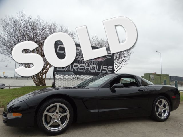 2001 Chevrolet Corvette Coupe 1SB Pkg, HUD, Polished Wheels, Only 14k! | Dallas, Texas | Corvette Warehouse  in Dallas Texas