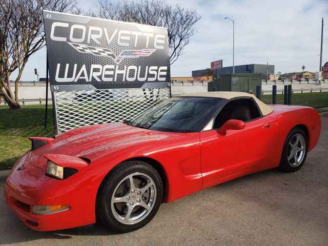 2001 Chevrolet Corvette Convertible Auto, CD Player, Polished Wheels 46k! | Dallas, Texas | Corvette Warehouse  in Dallas Texas