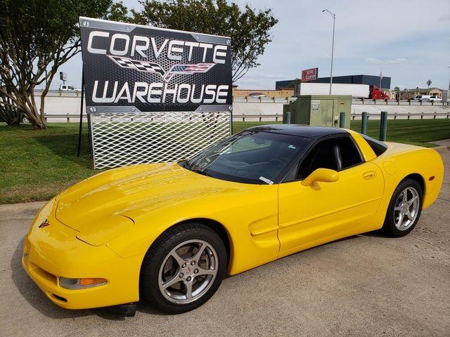 2001 Chevrolet Corvette Coupe 6 Speed HUD, Glass Top, Polished Wheels 65k! | Dallas, Texas | Corvette Warehouse  in Dallas Texas
