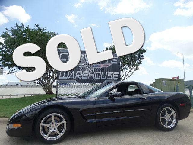 2001 Chevrolet Corvette Coupe 1SB Pkg, 6 Speed, HUD, Polished Wheels, 53k! | Dallas, Texas | Corvette Warehouse  in Dallas Texas