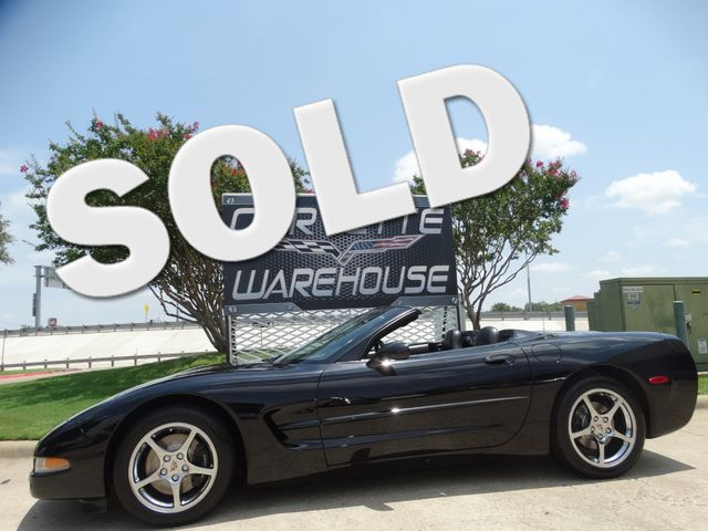 2001 Chevrolet Corvette Convertible HUD, Auto, Chromes, NICE, Only 84k! | Dallas, Texas | Corvette Warehouse  in Dallas Texas