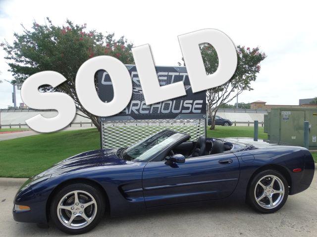 2001 Chevrolet Corvette Convertible 6-Speed, HUD, CD, Polished Wheels 37k! | Dallas, Texas | Corvette Warehouse  in Dallas Texas