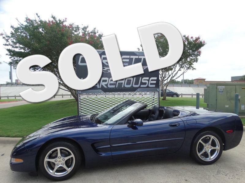 2001 Chevrolet Corvette Convertible 6-Speed, HUD, CD, Polished Wheels 37k! | Dallas, Texas | Corvette Warehouse