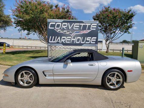 2001 Chevrolet Corvette Convertible 1SB Pkg, Auto, CD, Polished Wheels 39k   Dallas, Texas   Corvette Warehouse  in Dallas, Texas