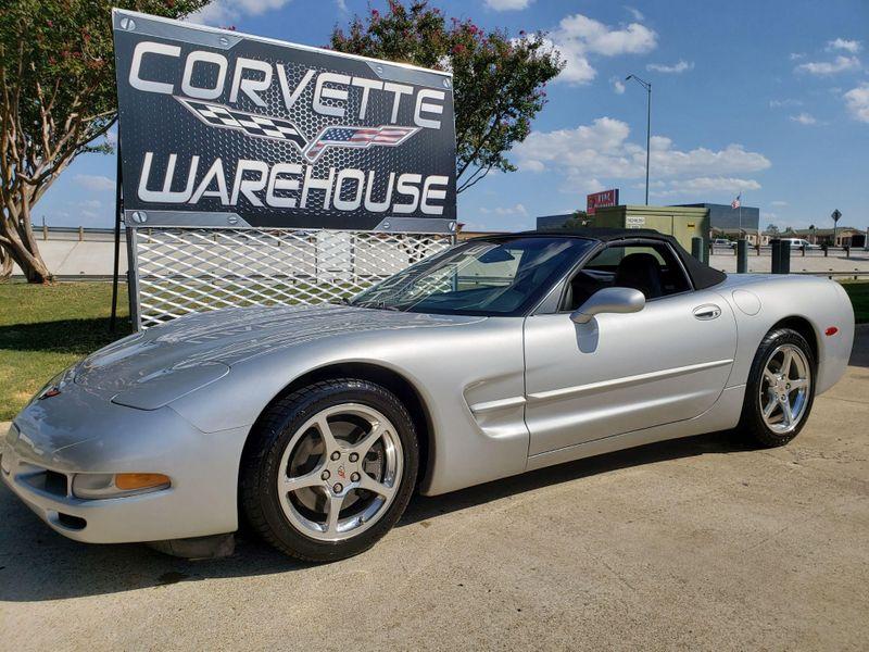 2001 Chevrolet Corvette Convertible 1SB Pkg, Auto, CD, Polished Wheels 39k   Dallas, Texas   Corvette Warehouse