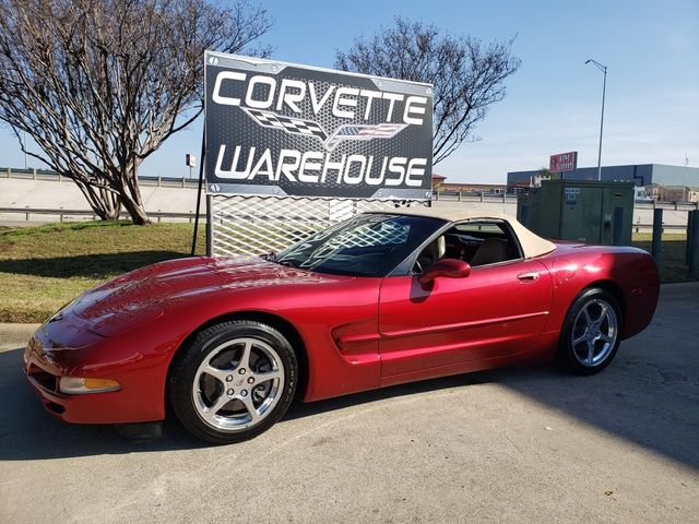 2001 Chevrolet Corvette Convertible 1SC, Z51, 6-Speed, Polished Wheels 69k