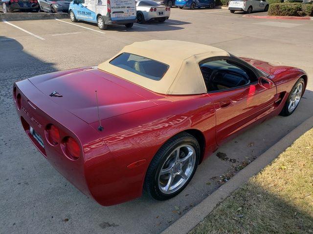 2001 Chevrolet Corvette Convertible 1SC, Z51, 6-Speed, Polished Wheels 69k in Dallas, Texas 75220