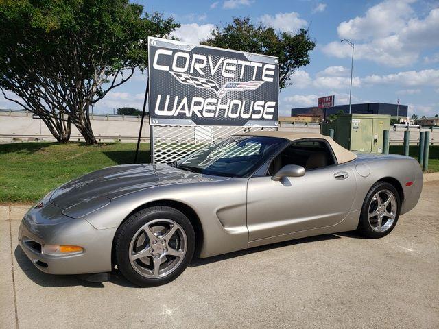 2001 Chevrolet Corvette Convertible 1SC Pkg, Auto, Polished Wheels 48k in Dallas, Texas 75220