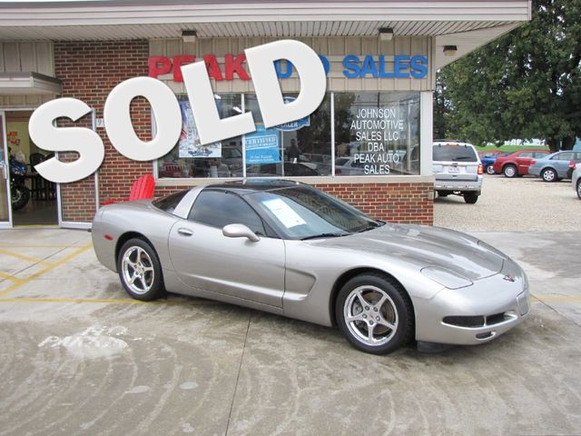 2001 Chevrolet Corvette GLASS TOP