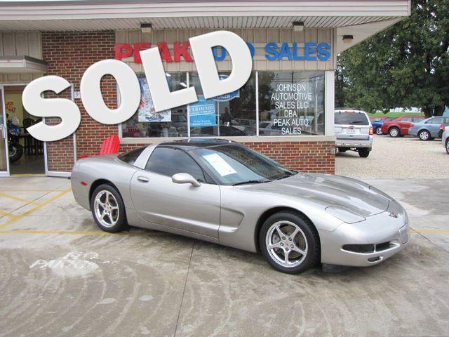 2001 Chevrolet Corvette GLASS TOP in Medina, OHIO 44256