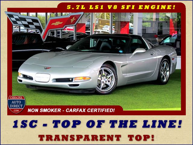 2001 Chevrolet Corvette 1SC - TOP OF THE LINE - UPGRADED WHEELS! Mooresville , NC 0