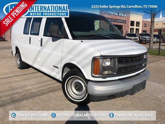 2001 Chevrolet G1500 Express Cargo Van