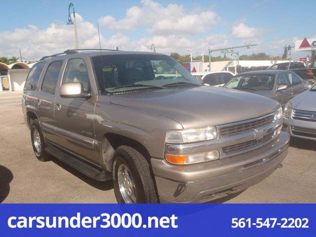 2001 Chevrolet Tahoe LT Lake Worth , Florida