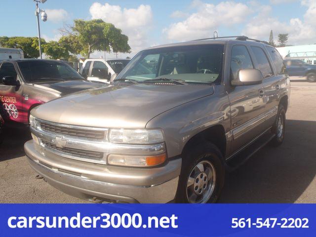 2001 Chevrolet Tahoe LT Lake Worth , Florida 2