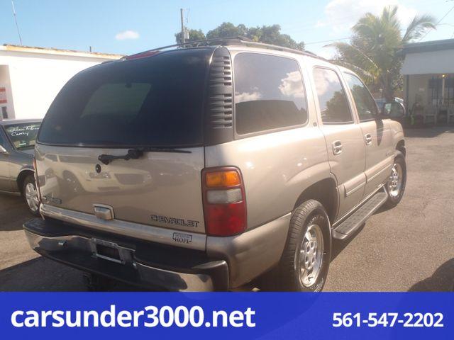 2001 Chevrolet Tahoe LT Lake Worth , Florida 3