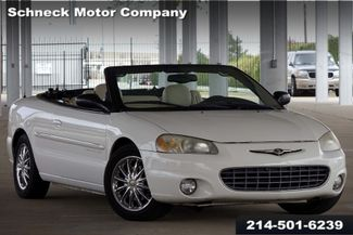 2001 Chrysler Sebring Limited in Plano TX, 75093