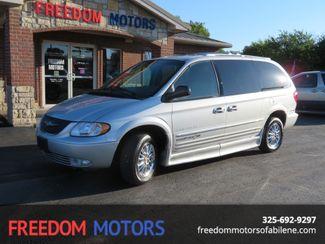 2001 Chrysler Town & Country Limited Ramp Van   Abilene, Texas   Freedom Motors  in Abilene,Tx Texas
