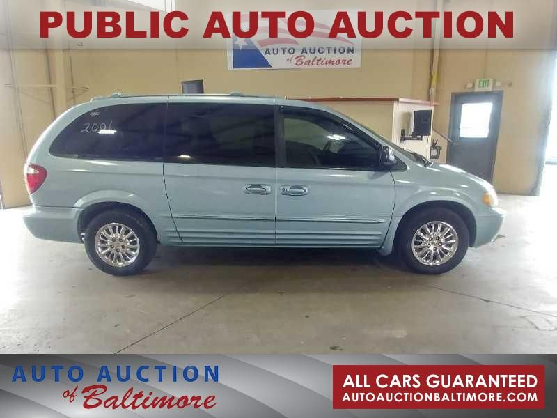 2001 Chrysler Town Country Limited Joppa Md Auto Auction Of