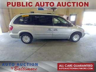 2001 Chrysler Town & Country LX   JOPPA, MD   Auto Auction of Baltimore  in Joppa MD