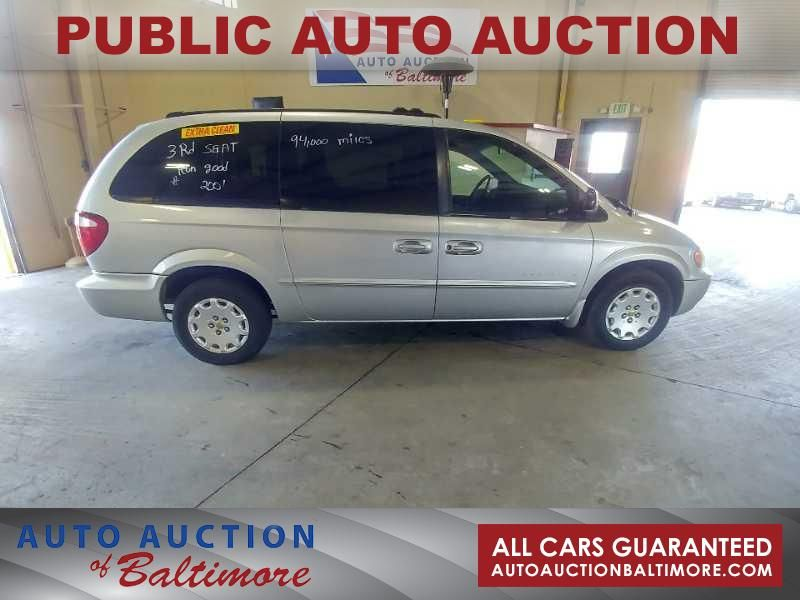 2001 Chrysler Town Country Lx Joppa Md Auto Auction Of