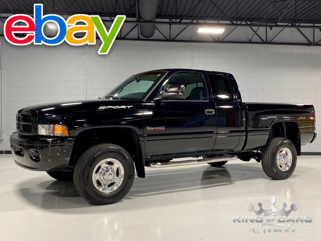 2001 Dodge Ram 2500 4x4 SPORT CUMMINS 5.9L DIESEL ONLY 83K MILES MINT