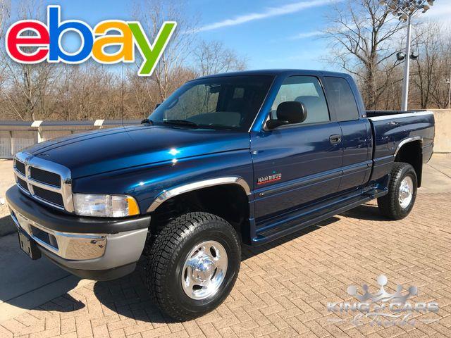 2001 Dodge Ram 2500 5.9l Cummins DIESEL 4X4 SLT LARAMIE 61K MILES 2ND GEN