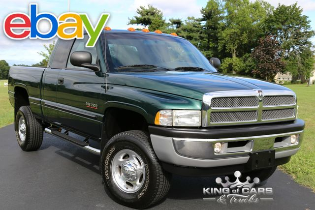2001 Dodge Ram 2500 Slt 5.9L DIESEL 6-SPD 77K ACTUAL MILES 1OWNER 4X4