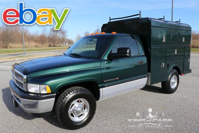 2001 Dodge Ram 2500 Slt OMAHA WALK-IN UTILITY BODY V10 53K MILES MINT