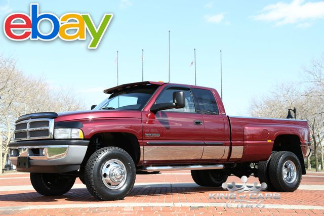 2001 Dodge Ram 3500 Drw 5.9L DIESEL 6-SPD 57K ACTUAL MILES 2OWNER 4X4