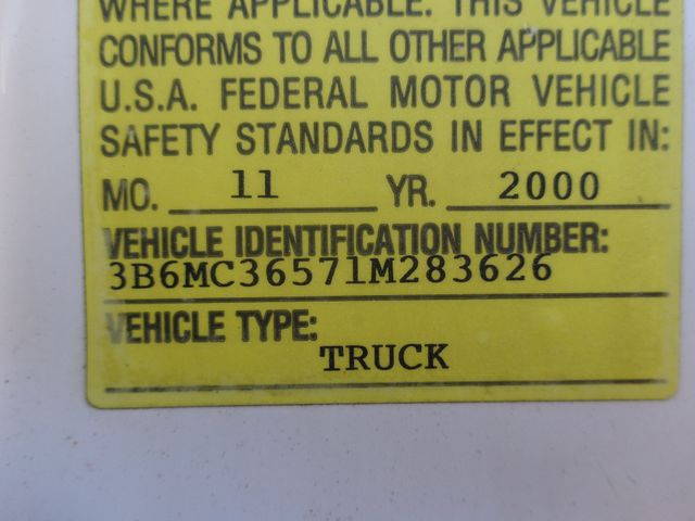 2001 Dodge Ram 3500 Utility Hoosick Falls, New York 6