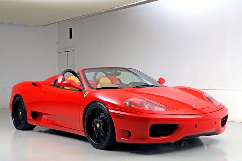 2001 Ferrari 360 MODENA  SPIDER F1   Plano, TX   Carrick's Autos in Plano TX