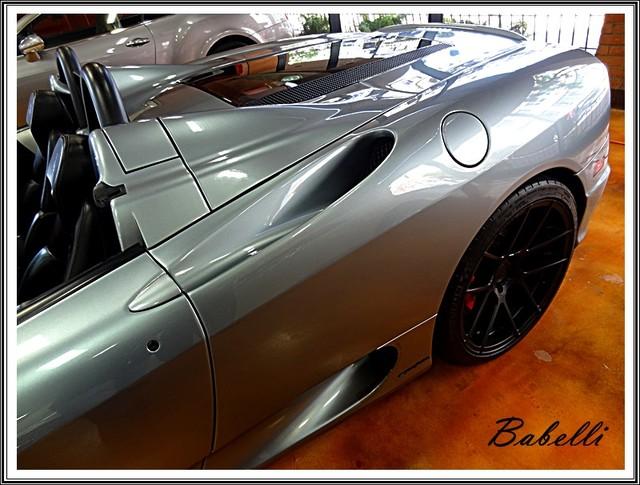 2001 Ferrari 360 Modena SPYDER La Jolla, Califorina  12