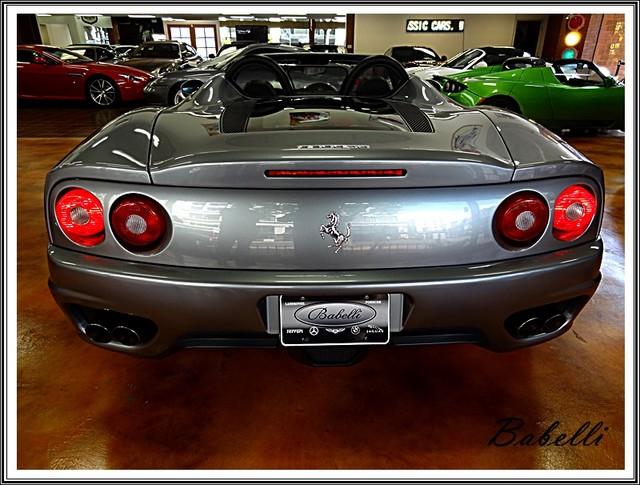 2001 Ferrari 360 Modena SPYDER La Jolla, Califorina  2