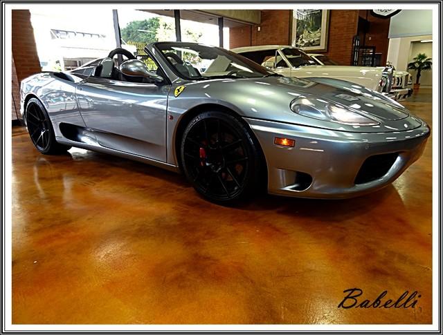 2001 Ferrari 360 Modena SPYDER La Jolla, Califorina  4