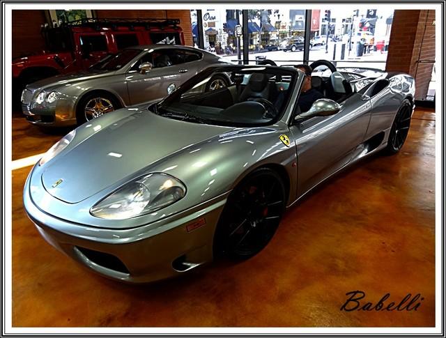 2001 Ferrari 360 Modena SPYDER San Diego, California 47