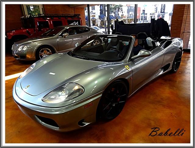 2001 Ferrari 360 Modena SPYDER La Jolla, Califorina  49