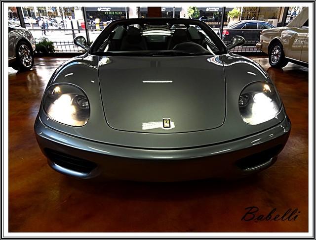 2001 Ferrari 360 Modena SPYDER La Jolla, Califorina  5