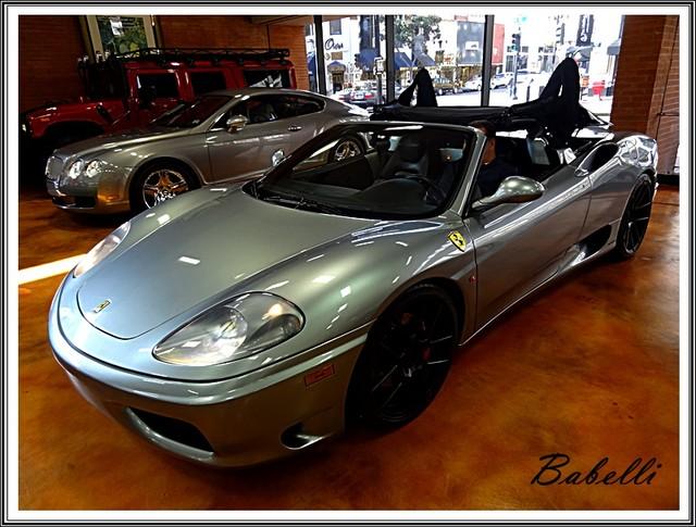 2001 Ferrari 360 Modena SPYDER San Diego, California 50