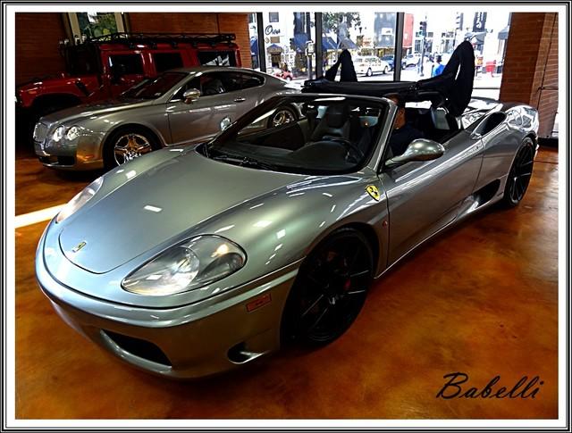 2001 Ferrari 360 Modena SPYDER La Jolla, Califorina  51