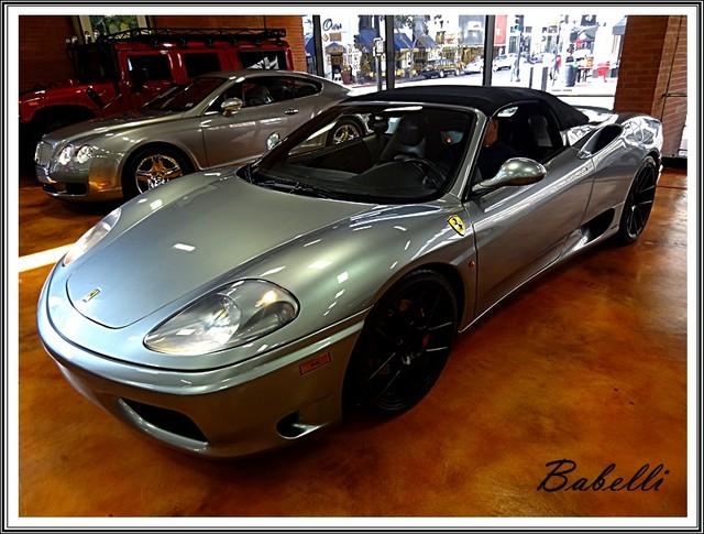 2001 Ferrari 360 Modena SPYDER La Jolla, Califorina  54