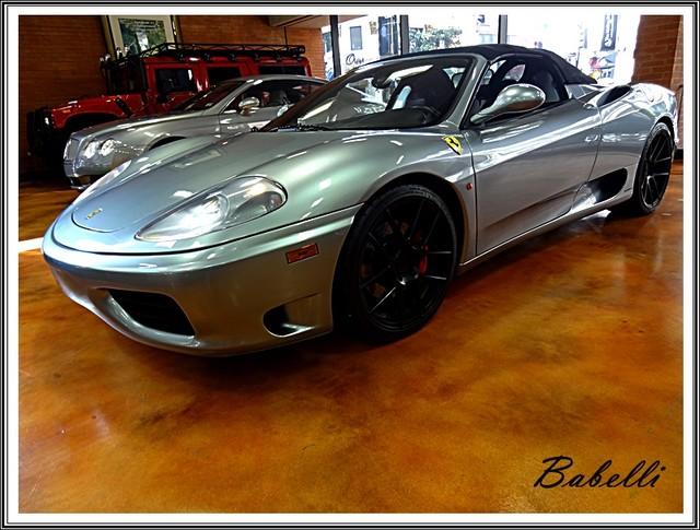 2001 Ferrari 360 Modena SPYDER La Jolla, Califorina  55