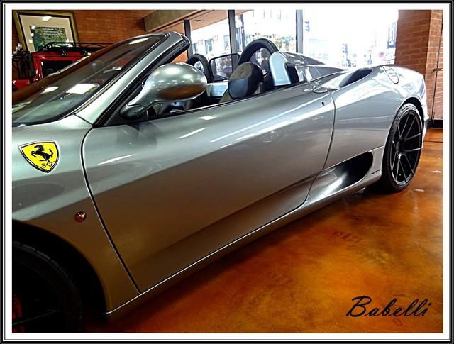 2001 Ferrari 360 Modena SPYDER La Jolla, Califorina  8
