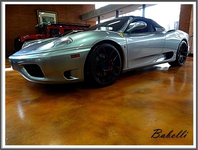 2001 Ferrari 360 Modena SPYDER San Diego, California 69