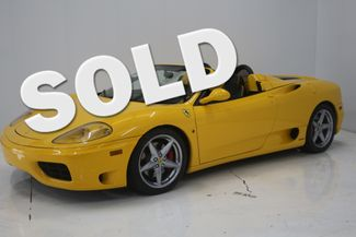 2001 Ferrari 360 SPIDER Houston, Texas