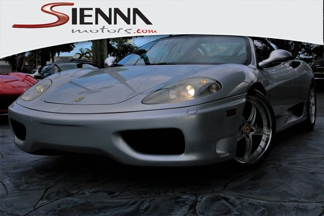 2001 Ferrari 360 Spider Base