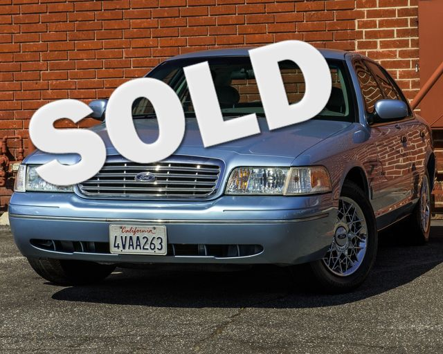 2001 Ford Crown Victoria LX Burbank, CA 0