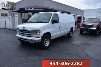 2001 Ford Econoline Cargo Van XL in FORT LAUDERDALE FL, 33309