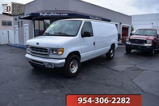 2001 Ford Econoline Cargo Van XL in FORT LAUDERDALE, FL 33309