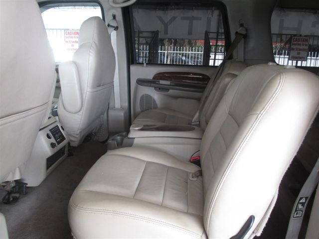 2001 Ford Excursion Limited Gardena, California 9